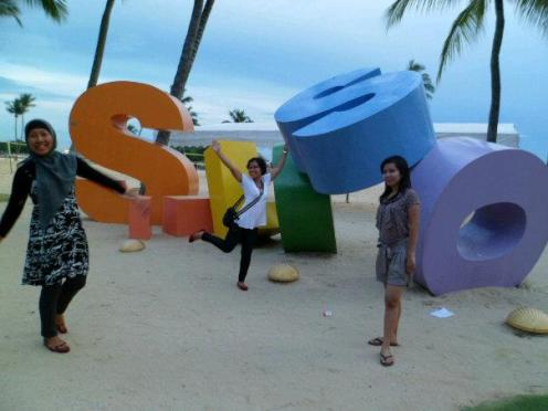Siloso Beach @Sentosa Island