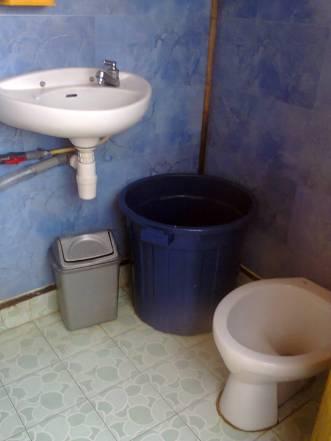 salah satu toilet dikapal