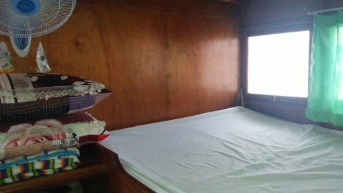 salah satu kamar kabin