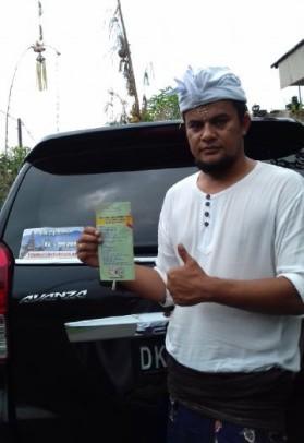 Pak Putu, partner in Bali