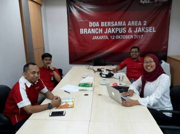 Pitching @Grapari Telkomsel Wisma Alia Okt 2017